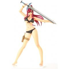 Fairy Tail 1/6 Scale Pre-Painted Figure: Erza Scarlet Swimsuit Gravure_Style (Re-run) Orca Toys