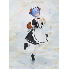 Re:Zero - Starting Life in Another World Pre-Painted Precious Figure: Rem Memory Snow Puppy Ver. Taito