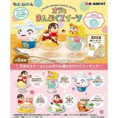 Crayon Shin-chan Ora to Manpuku Sweets (Set of 6 Pieces) Re-ment