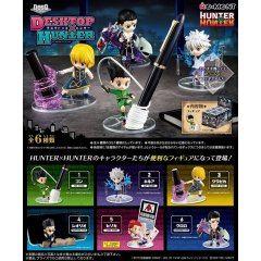 Hunter x Hunter DesQ Desktop Hunter (Set of 6 Pieces) Re-ment