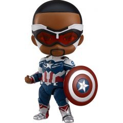 Nendoroid No. 1618 The Falcon and The Winter Soldier: Captain America (Sam Wilson) [GSC Online Shop Exclusive Ver.] Good Smile