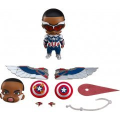 Nendoroid No. 1618-DX The Falcon and The Winter Soldier: Captain America (Sam Wilson) DX Good Smile