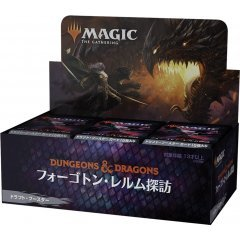 Magic: The Gathering - Adventures in the Forgotten Realms Draft Booster Japanese Ver. (Set of 36 Packs) Wizards of the Coast