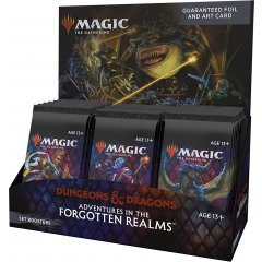 Magic: The Gathering - Adventures in the Forgotten Realms Set Booster English Ver. (Set of 30 Packs) Wizards of the Coast