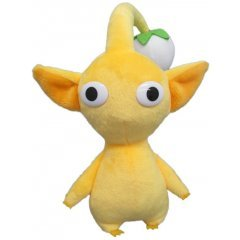 Pikmin All Star Collection Plush: Yellow Pikmin (Re-run) San-ei Boeki