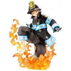 ARTFX J Fire Force 1/8 Scale Pre-Painted Figure: Shinra Kusakabe (Re-run) Kotobukiya