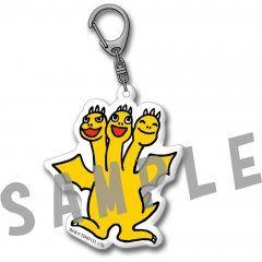 Godzilla - Acrylic Key Chain Design B Chibi Ghidorah Sync Innovation Co., Ltd.