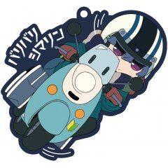 Yurucamp Season 2 Chara Ride Baribari Shima Rin Rubber Strap Groove Garage