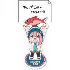 Yurucamp Season 2 - Beryx Splendens Nadeshiko Memo Stand Groove Garage