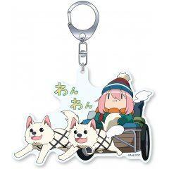 Yurucamp Season 2 - CharaRide Nadeshiko On Wanwan Handcart Acrylic Key Chain Groove Garage