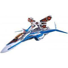 DX Chogokin Macross Delta Movie Absolute Live!!!!!!: VF-31J Siegfried (Hayate Immelmann Custom) Field Projection Unit Equipped Tamashii (Bandai Toys)