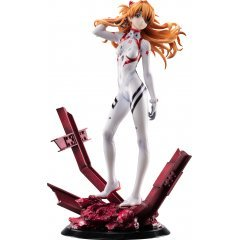 Evangelion 3.0+1.0 Thrice Upon a Time 1/7 Scale Pre-Painted Figure: Asuka Shikinami Langley (Last Mission) Revolve