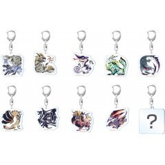 Monster Hunter Rise Monster Icon Acrylic Mascot Collection Vol. 3 (Set of 10 pieces) Capcom