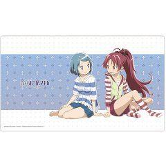 Puella Magi Madoka Magica The Movie: Rebellion - Sayaka & Kyouko Room Wear Rubber Mat Curtain Damashii