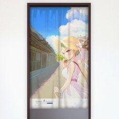 Summer Pockets Reflection Blue - Noren Nomura Miki / Torishirojima Curtain Damashii