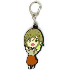 Yurucamp SD Rubber Keychain: Inuyama Aoi Soup