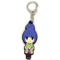 Yurucamp SD Rubber Keychain: Shima Rin Soup