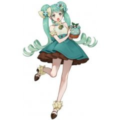 Vocaloid Hatsune Miku Sweet Sweets Pre-Painted Figure: Hatsune Miku Chocolate Mint Ver. FuRyu