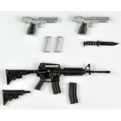 Resident Evil: Infinite Darkness Little Armory LABH01 1/12 Scale Model Kit: Weapons 1 Tomytec