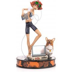 Cowboy Bebop Resin Painted Statue: Ed and Ein [Standard Edition] First4Figures