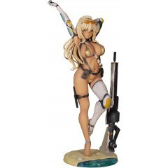 Original Character 1/6 Scale Pre-Painted Figure: Gal Sniper Illustration by Nidy-2D- STD Ver. Alphamax