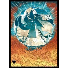 Magic: The Gathering Players Card Sleeve - Strixhaven: School Of Mages Japanese Painting Mystic Archive Counterspell (MTGS-163) Ensky