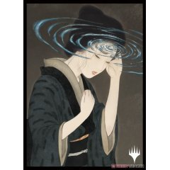 Magic: The Gathering Players Card Sleeve - Strixhaven: School Of Mages Japanese Painting Mystic Archive Duress (MTGS-166) Ensky