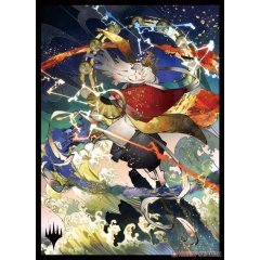 Magic: The Gathering Players Card Sleeve - Strixhaven: School Of Mages Japanese Painting Mystic Archive Electrolyze (MTGS-168) Ensky
