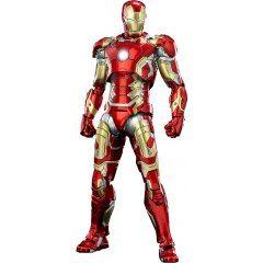 The Infinity Saga 1/12 Scale Pre-Painted Action Figure: DLX Iron Man Mark 43 (Re-run) Threezero