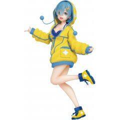 Re:Zero Starting Life in Another World Figurine précieuse pré-peinte : Rem Fluffy Parka Ver.  Taito de renouvellement