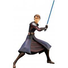 ARTFX+ Star Wars The Clone Wars 1/10 Scale Pre-Painted Figure: Anakin Skywalker The Clone Wars Ver. Kotobukiya