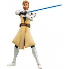 ARTFX+ Star Wars The Clone Wars 1/10 Scale Pre-Painted Figure: Obi-Wan Kenobi The Clone Wars Ver. Kotobukiya
