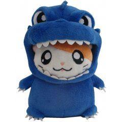 Godzilla x Hamtaro-kun Plush: Blue San-ei Boeki