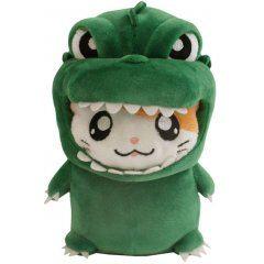 Godzilla x Hamtaro-kun Plush: Green San-ei Boeki