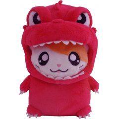 Godzilla x Hamtaro-kun Plush: Red San-ei Boeki