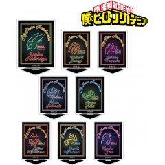 My Hero Academia Trading Ani-Neon Acrylic Stand (Set of 8 pieces) armabianca
