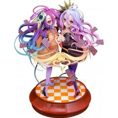 No Game No Life Zero 1/7 Scale Pre-Painted Figure: Shiro & Schwi [GSC Online Shop Exclusive Ver.] Phat Company
