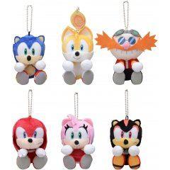 Sonic The Hedgehog & You Plush (Set of 6 Pieces) Sega