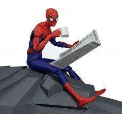 Spider-Man Into the Spider-Verse Action Figure: SV Action Peter B. Parker/Spider-Man Sentinel