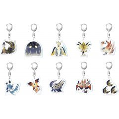 Monster Hunter Rise Environmental Organisms Icon Acrylic Mascot Collection Vol. 3 (Set of 10 pieces) Capcom