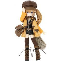 Mimy Garden Naturalis Historia 1/12 Scale Fashion Doll: Raia Brown Ver. Azone