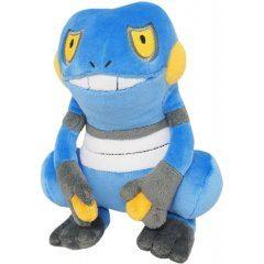 Pokemon All Star Collection Plush: PP45 Croagunk (s) (re-run) San-ei Boeki