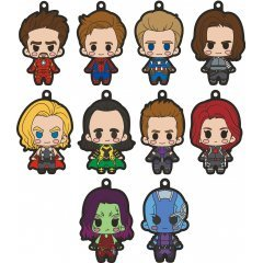 Marvel xBuddies Rubber Mascot (Set of 10 pieces) TakaraTomy