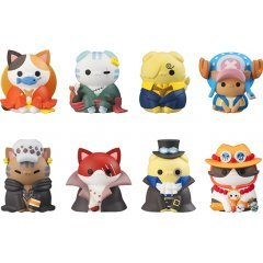 Mega Cat Project One Piece: Nyan Piece Meow! I'll Become the Pirate King, Meow! (Set of 8 Pieces) Mega House