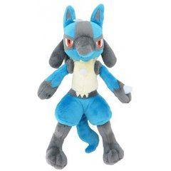 Pokemon All Star Collection Plush: PP12 Lucario (s) (re-run) San-ei Boeki