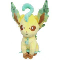 Pokemon All Star Collection Plush: PP123 Leafeon (S) (re-run) San-ei Boeki