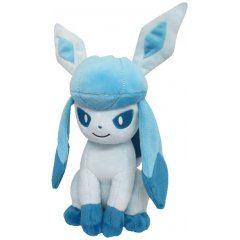 Pokemon All Star Collection Plush: PP124 Glaceon (S) (re-run) San-ei Boeki