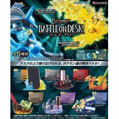 Pokemon DesQ BATTLE ON DESK! (Set of 6 Pieces) Re-ment