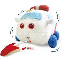 Pui Pui Molcar: Ambulance Molcar - Buruburuzu Plush Mascot Eikoh