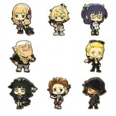 NEO: The World Ends with You - Metal Pin Badge Collection (Set of 8 pieces) Square Enix